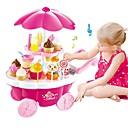 olcso Játékkonyhák és ételek-Szerepjátékok Fagylalt / Édes Candy Shop Műanyag ház Iskola előtti Ajándék 39 pcs