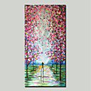 cheap Wall Art-Mintura® Hand Painted Abstract Knife Landscape Oil Painting On Canvas Modern Wall Art Pictures For Home Decoration Ready To Hang