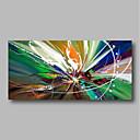 ieftine Picturi în Ulei-Hang-pictate pictură în ulei Pictat manual - Abstract / Peisaj Contemporan pânză