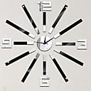 ieftine Ceasuri de Perete-Modern / Contemporan Plastic Rotund Interior,Baterii AA alimentate