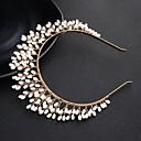 זול הד פיס למסיבות-סגסוגת רצועות עם פנינים חלק 1 חתונה / לבוש יומיומי כיסוי ראש