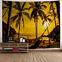 halpa Seinämaalaukset-Uutuudet / Loma Wall Decor Polyesteri Klassinen / Vintage Wall Art, Seinävaatteet Koriste