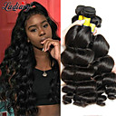 cheap Women's Slippers & Flip-Flops-3 Bundles Mongolian Hair Wavy Human Hair One Pack Solution 8-28 inch Human Hair Weaves Machine Made Gift / New Arrival / Hot Sale Natural Color Human Hair Extensions Women's