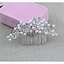 abordables Joyería Religiosa-Legierung Peines de pelo / Vestimenta de Cabeza con Perlado Artificial 1 Pieza Boda / Ocasión especial Celada
