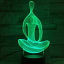abordables Utensilios de Horno-1pc Luz nocturna 3D Nuevo diseño / Creativo / Seguridad <5 V
