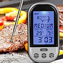 baratos Utensílios & Gadgets de Cozinha-1pç Utensílios de cozinha ABS Medidores / Multi-Função / Display LCD de dígitos Themometer Uso Diário / Multifunções / para Meat