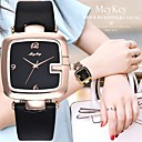 cheap Wedding Shoes-Women's Wrist Watch Quartz Chronograph Casual Watch Lovely Leather Band Analog Bangle Elegant Black / White / Red - Rose Gold Rose Gold / White Black / Rose Gold One Year Battery Life