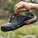 cheap Footwear & Accessories-Men's Hiking Shoes / Water Shoes Rubber Fishing Wearable, Breathable, Outdoor Net Black / Dark Grey