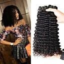 tanie Dopinki w naturalnych kolorach-4 zestawy Włosy brazylijskie Curly 8A Włosy naturalne Fale w naturalnym kolorze Doczepy 8-28 in Natutalne Ludzkie włosy wyplata Tkany maszynowo Najwyższa jakość Nowości 100% Dziewica Ludzkich włosów