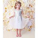 tanie Sukienki dla niemowląt-Dziecko Dla dziewczynek Aktywny / Podstawowy Nadruk Cekiny Bez rękawów Długie Bawełna Sukienka / Brzdąc
