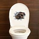 economico Adesivi da parete-Adesivi toilet - Adesivi murali animali Animali Salotto / Camera da letto / Bagno