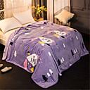 preiswerte Hundekleidung-Korallenfleece, Pigment Druck Geometrisch Baumwolle / Polyester Decken