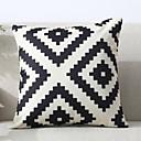 billige Putevar-1 stk Polyester Putecover, Geometrisk / Mønster Mønstret / Moderne Stil