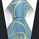 זול אביזרים לגברים-עניבת צווארון - קולור בלוק / פייסלי / סרוג מסיבה / עבודה בגדי ריקוד גברים