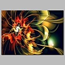 cheap Stretched Canvas Prints-Print Stretched Canvas Prints - Fantasy / Floral / Botanical Modern