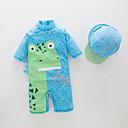 tanie Zestawy ubrań dla chłopców-Brzdąc Dla chłopców Plaża Jendolity kolor Odzież kąpielowa