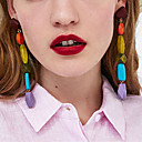 cheap Earrings-Women's Long Drop Earrings - Spike Asian, Trendy, Korean Dark Blue / Red / Green For Daily / Club