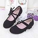 povoljno Cipele za djevojčice-Djevojčice Cipele PU Proljeće ljeto Udobne cipele Ravne cipele Hodanje Mašnica za Djeca Crn / Braon / Pink