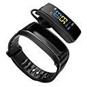tanie Inteligentne zegarki-BoZhuo Y3 Plus Inteligentny zegarek Android iOS Bluetooth Wodoodporny Pulsometry Spalonych kalorii Odbieranie bez użycia rąk Rejestr ćwiczeń Krokomierz Powiadamianie o połączeniu telefonicznym