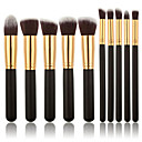cheap Makeup Brush Sets-10pcs Makeup Brushes Professional Makeup Brush Set Eco-friendly / Professional / Soft Wooden / Bamboo