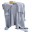 ieftine Pături-Lână Coral, Imprimeu pigment Mată Bumbac / Poliester pături