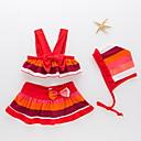 ieftine Costum Baie Fete-Copil Fete Plajă Dungi Costum Baie