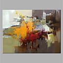 povoljno Apstraktno slikarstvo-Hang oslikana uljanim bojama Ručno oslikana - Sažetak Vintage Bez unutrašnje Frame / Valjani platno