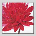 billige Oljemalerier-Hang malte oljemaleri Håndmalte - Blomstret / Botanisk Moderne Inkluder indre ramme / Stretched Canvas