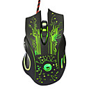 cheap Mice-Factory OEM Wired USB Gaming Mouse keys Led light 4 Adjustable DPI Levels 6 programmable keys