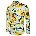 preiswerte Armbänder-Herrn Blumen - Grundlegend Hemd Druck Sonnenblume