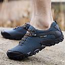 cheap Hiking Trousers & Shorts-Men's Hiking Shoes Rubber Walking / Jogging Anti-Slip, Impact, Breathability Mesh Brown / Blue / Burgundy