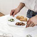 رخيصةأون صواني الخبز-1 قطعة الخزف / خزفي تصميم جديد / عازل للحرارة / خلاق أطباق عشاء / صينية / صحون لتقديم الطعام, أواني الطعام