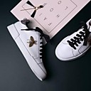 povoljno Ženske cipele bez vezica-Žene Cipele Mekana koža Ljeto Udobne cipele Sneakers Ravna potpetica Okrugli Toe Obala