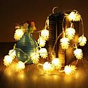 baratos Estolas de Casamento-5m 50 leds Halloween Natal luzes decorativas festivas tira luzes-equinácea (220v)