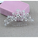 cheap Motorcycle & ATV Parts-Alloy Hair Combs / Headdress with Rhinestone / Faux Pearl 1 Piece Wedding / Special Occasion Headpiece
