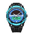 cheap Projectors-SANDA Men's Sport Watch / Digital Watch Japanese Calendar / date / day / Water Resistant / Water Proof / Stopwatch Plastic Band Luxury / Fashion Black