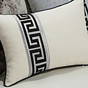 cheap Pillow Covers-1 pcs Polyester Pillow, Geometric / Pattern Patterned / Modern Style