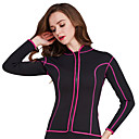 cheap Wetsuits, Diving Suits & Rash Guard Shirts-SBART Women's Wetsuit Top 2mm Neoprene Top Long Sleeve Diving Classic / Fashion Summer / Fall / Winter / Stretchy