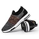 povoljno Muške tenisice-Muškarci Mrežica Ljeto Udobne cipele Sneakers Crn / Sive boje / Tamno siva