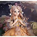 זול בגדי ריקוד לילדים-Doris בול הצטרף לדול Blythe דול תינוקות בנות 24 אִינְטשׁ גוף מלא סיליקון - חמוד מְעוּדָן גבוהה טמפרטורה עמיד סיבים פאות הילד של בנות צעצועים מתנות