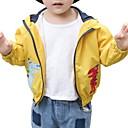 ieftine Top Băieți-Copii Băieți De Bază Imprimeu Manșon Lung Bumbac Blazer