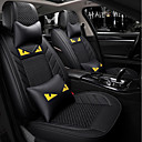 cheap Pendant Lights-ODEER Car Seat Covers Seat Covers Black Textile Common for universal All years All Models
