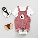 ieftine The Freshest One-Piece-Bebelus Fete Imprimeu Manșon Lung Set Îmbrăcăminte