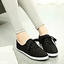 זול נעלי עקב לנשים-בגדי ריקוד נשים נעליים קנבס קיץ נוחות נעלי ספורט שטוח כתום / אפור / ירוק בהיר