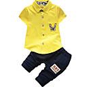 povoljno Džemperi i kardigani za dječake-Dijete koje je tek prohodalo Dječaci Jednobojni Kratkih rukava Komplet odjeće