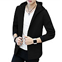 cheap Men's Rings-Men's Street chic Jacket - Solid Colored
