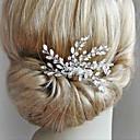 رخيصةأون قطع رأس-سبيكة غطاء للرأس مع كريستال / أحجار الراين 1 قطعة زفاف / مناسبة خاصة خوذة