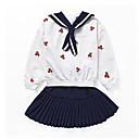 ieftine Seturi Îmbrăcăminte Fete-Copii Fete Mată / Fruct Manșon Lung Set Îmbrăcăminte