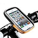 billiga Väskor till cykelramen-Väska till cykelstyret 5.5 tum Pekskärm Cykelsport för iPhone 8 Plus / 7 Plus / 6S Plus / 6 Plus Orange / 600D Polyester