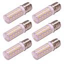 preiswerte LED Glühbirnen-4 watt g9 führte maislicht 54 leds 4014 smd ac 100-240 v kein flimmern für wandleuchte hause beleuchtung kalt / warmweiß (6 stücke)